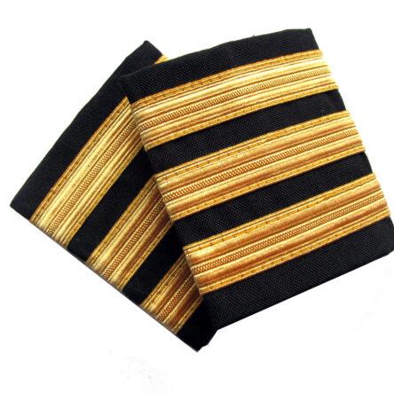 Нашивки втори пилот – различни цветове