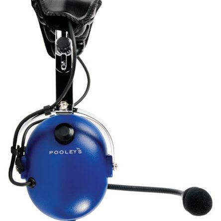Авиационни слушалки Pooleys – двужакови