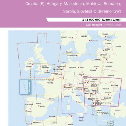 Визуална карта Air Million – Източна Европа 2020