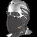 Защитна маска за лице Pilot – черна