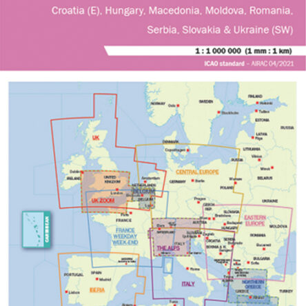 Визуална карта Air Million – Източна Европа 2021